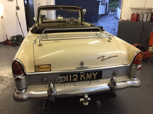 1957 Ford Zodiac mk2 Highline convertible (SOLD)