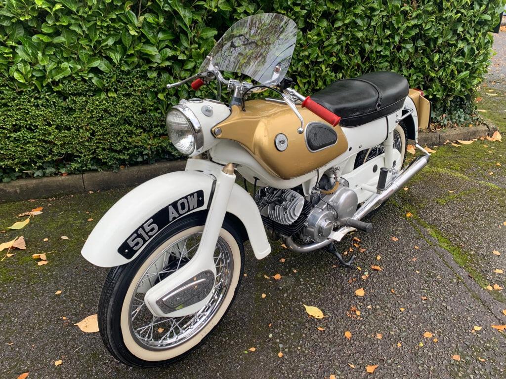 1962 Ariel 250 Golden Arrow SOLD