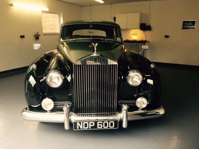 1957 Rolls Royce Silver Cloud I SOLD