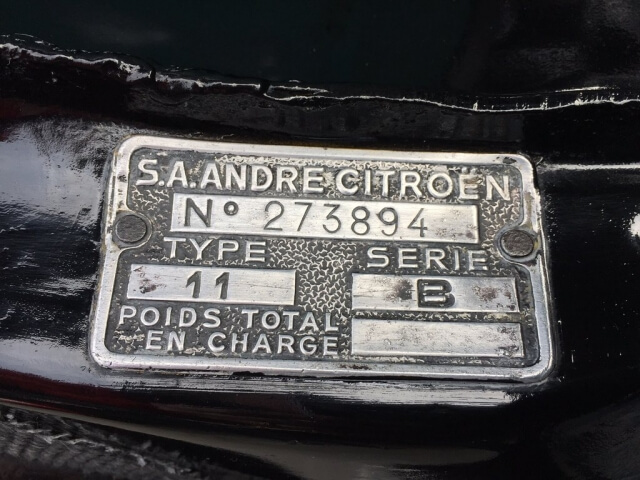 1954 Citroen Traction Avant SOLD