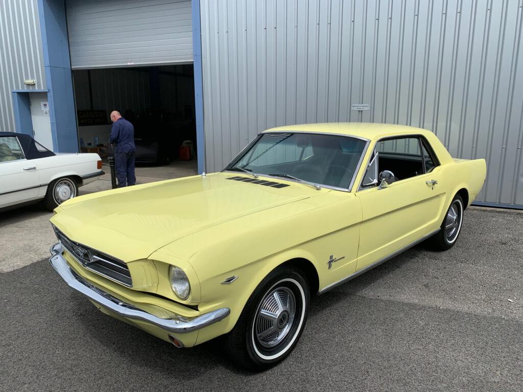 1965 Ford Mustang 289 V8 manual