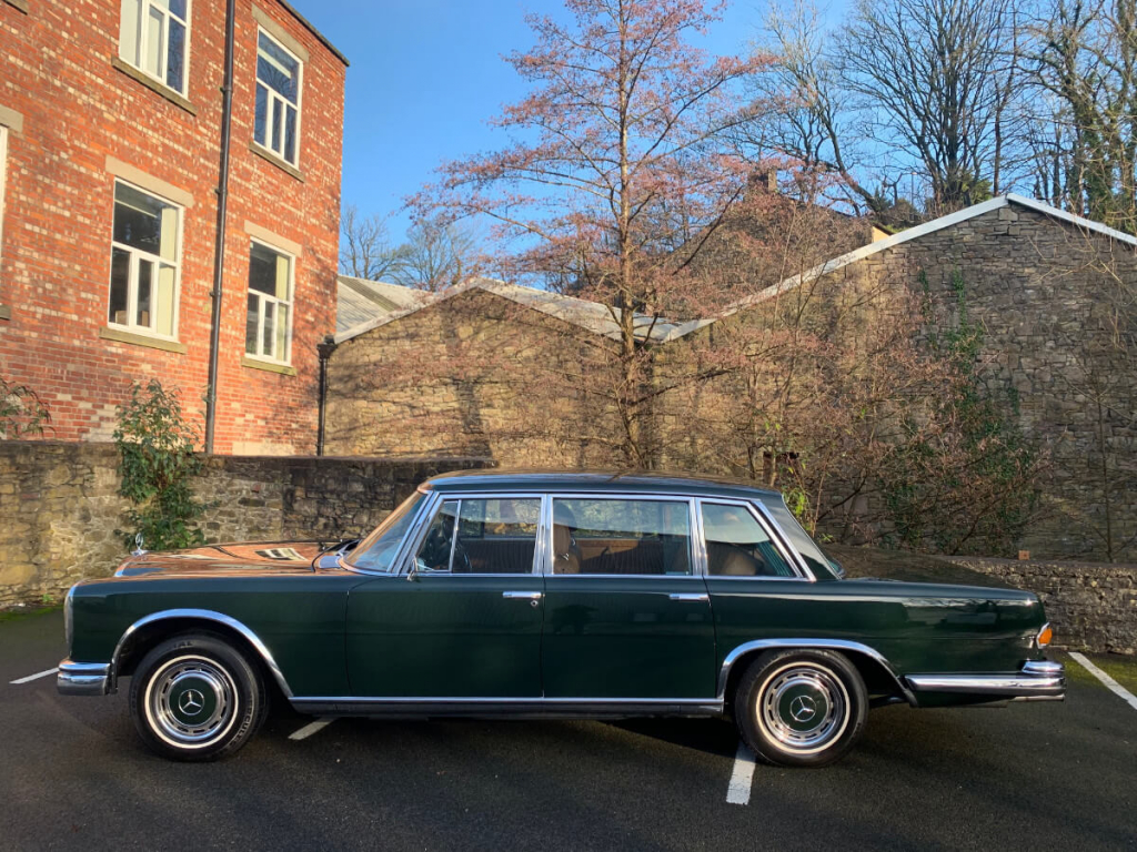 1971 Mercedes W100 600 Grosser. Very rare RHD.