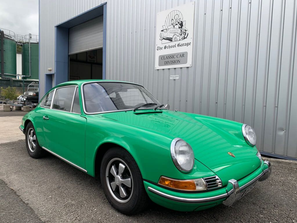 1971 Porsche 911T 2.2 coupe