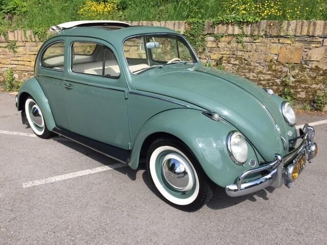 1958 VW Beetle 1200 LHD SOLD!