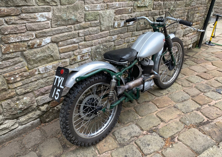 1957 Bantam D3 150 Trials