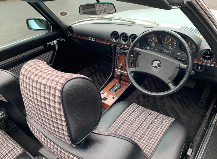 1986 Mercedes 300SL W107 sports