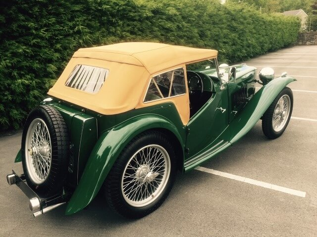 1948 MG TC SOLD