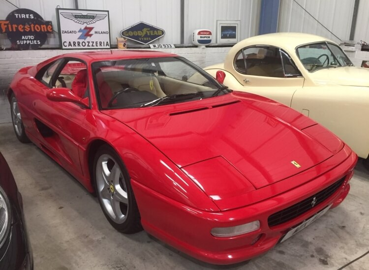 1998 (April) Ferrari 355 Berlinetta SOLD