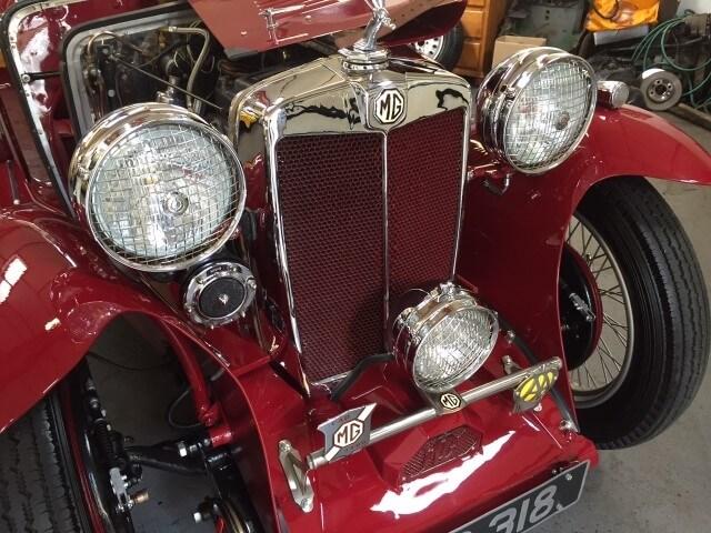 1934 MG PA SOLD
