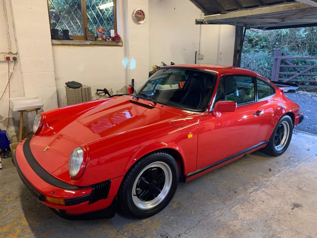[SOLD] 1986 Porsche 911 Carrera Sports Coupe