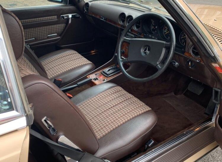 [SOLD] 1985 Mercedes 280SL Sports