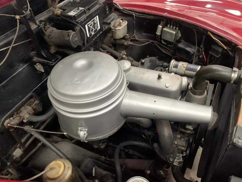 1953 BMW 501 Saloon.
