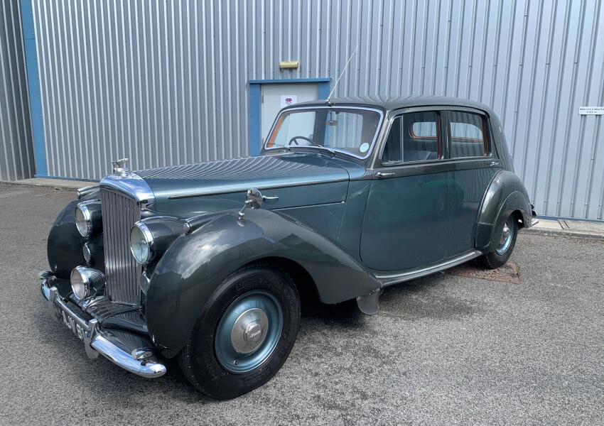 1948 Bentley MK6 manual