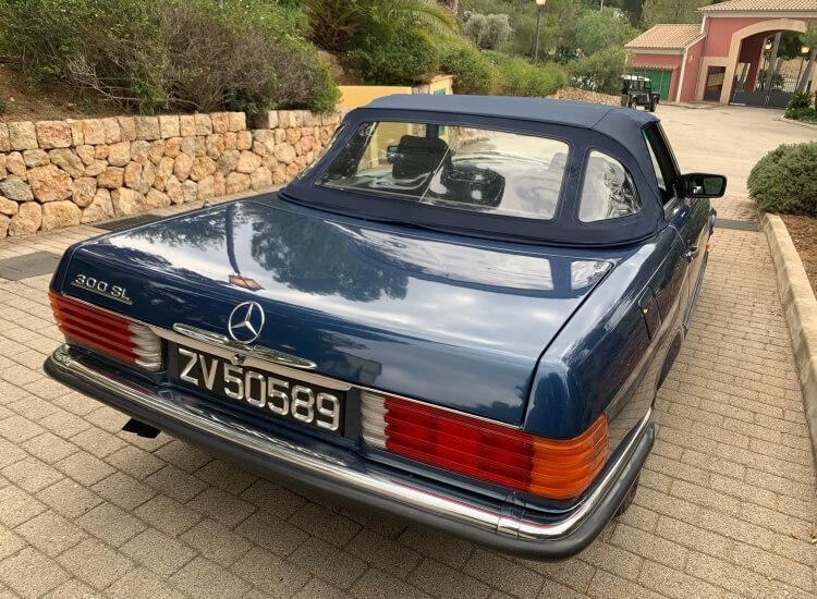 1987 Mercedes 300SL W107 SOLD!