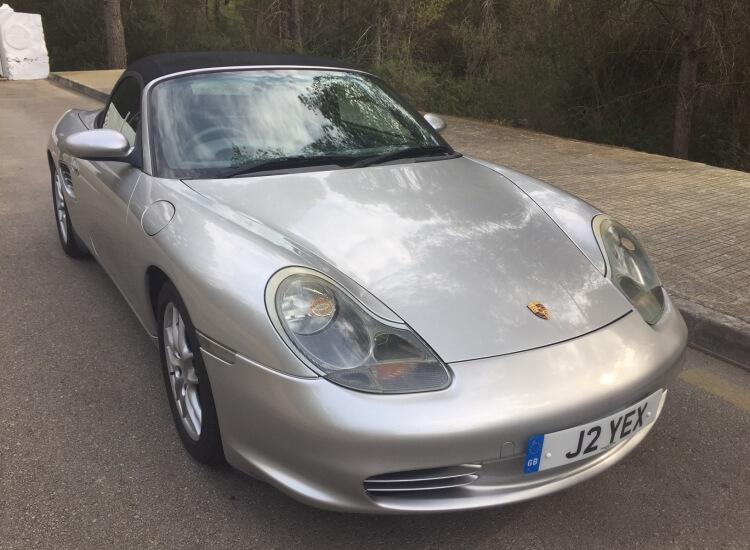 [SOLD] 2004 Porsche Boxster Tiptronic S
