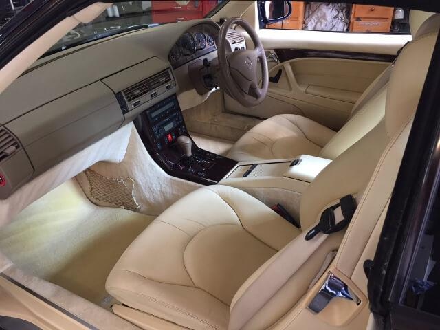 1999 Mercedes SL320 sports SOLD