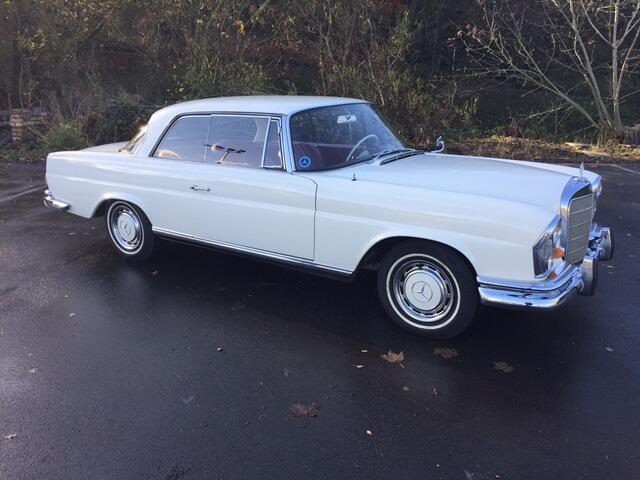 1963 Mercedes 220 SEB Manual SOLD
