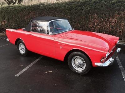 1964 Sunbeam Alpine MK4 SOLD