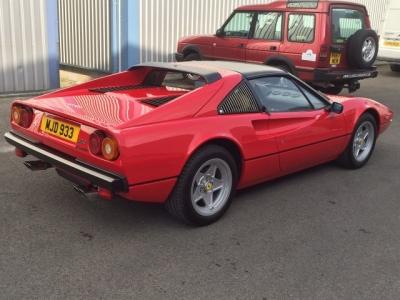 1983 Ferrari 308 GTS QV SOLD