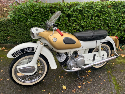 1962 Ariel 250 Golden Arrow SOLD