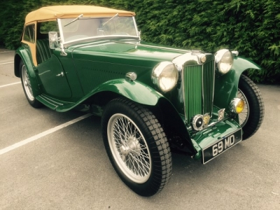 1948 MG TC SOLD