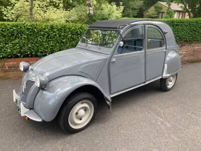 1961 Citroen 2 CV Crinkle Bonnet long boot
