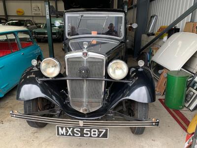 1934 Morris 10/4 sliding head saloon SOLD!