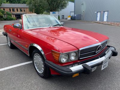 1988 Mercedes 560SL Sports. LHD