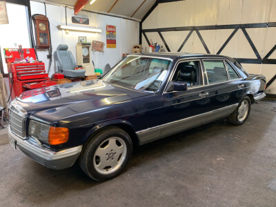 1983 Mercedes 500SEL W126 LHD SOLD!