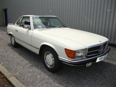 1979 Mercedes 450SL SOLD