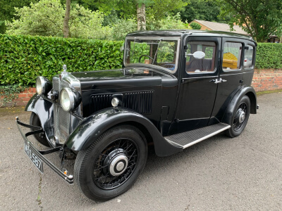 1934 Morris 10/4 sliding head saloon SOLD!