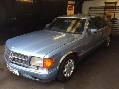 1986 Mercedes 500 SEC SOLD