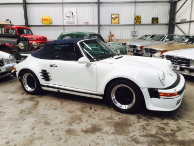 1988 Porsche 911 (930 Turbo) Cabriolet SOLD!
