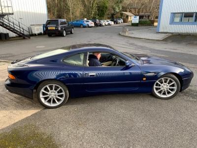 2001 Aston Martin DB7 Vantage SOLD