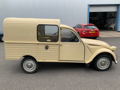 1978 Citroen 2CV Forgonette SOLD!