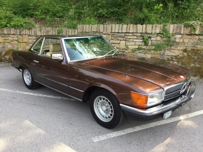 1982 Mercedes 280 SL W107 SOLD