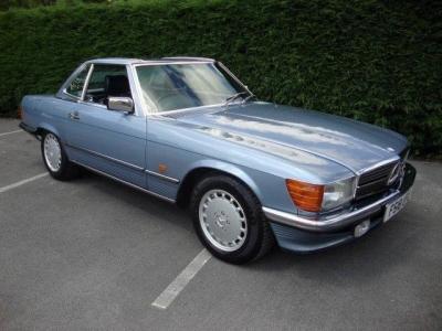 1989 Mercedes 300SL SOLD