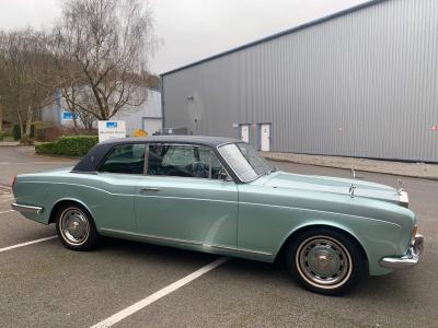 1970 Rolls Royce MPW 2 door coupe