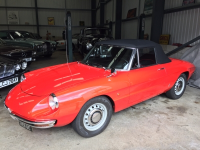 1967 Alfa Romeo 1600 Duetto SOLD