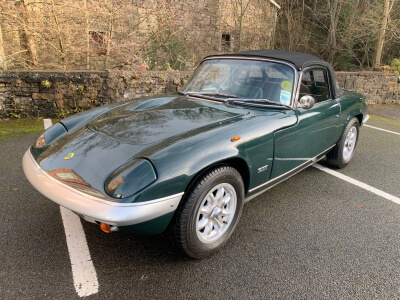 1970 Lotus Elan S4 SE. DHC SOLD
