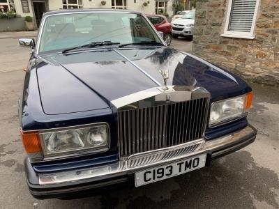 1986 Rolls Royce Silver Spirit SOLD!