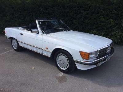 1987 Mercedes 300 SL auto (w107) SOLD!