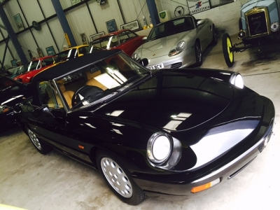1991 Alfa Romeo 2.0 Spider SOLD